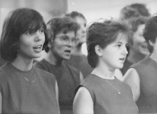Kórustagok Autun 1986