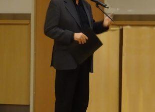 Pethő Attila műsorvezető, az Ad Libitum Kórusegyesület elnöke